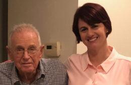 Photo of L. David Baldwin and Joy Ward