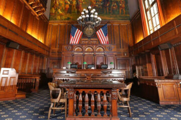 interior of the 8th District Court of Appeals